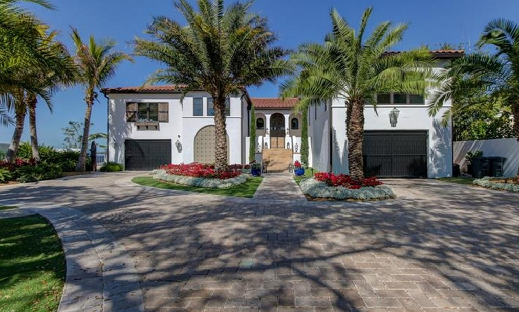 $6.2 Million Newly Built Mediterranean Waterfront Home In Tampa, FL
