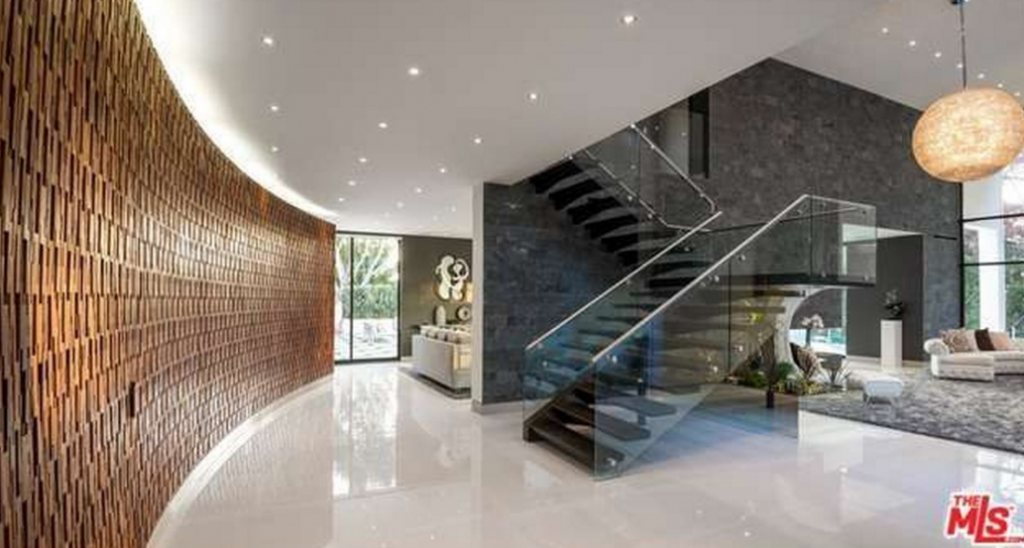Modern Mansion Foyer : Million modern mansion in beverly hills ca homes