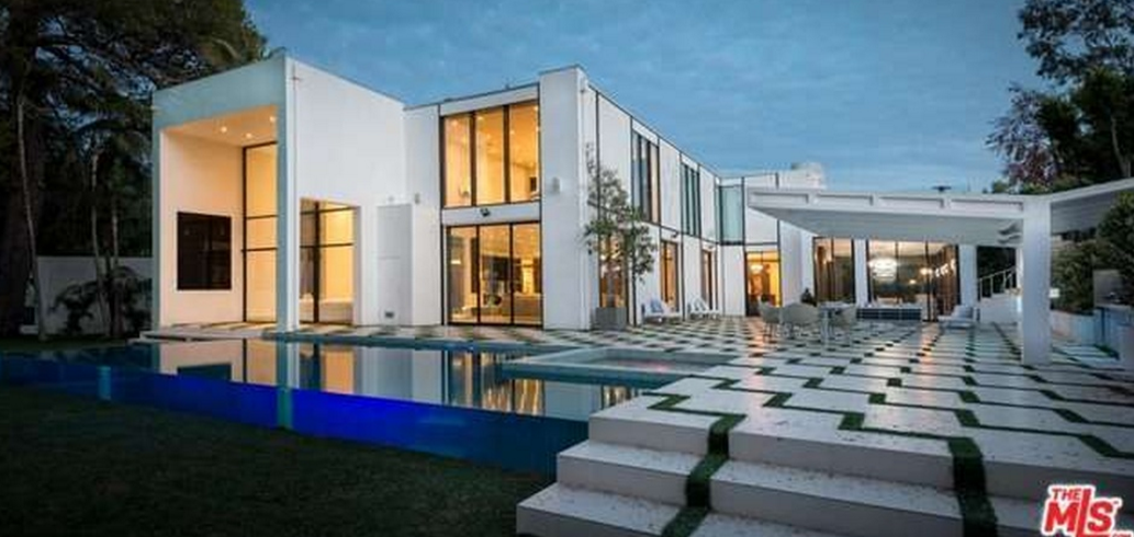 34 5 million modern mansion in beverly hills ca homes for Modern mansions in beverly hills