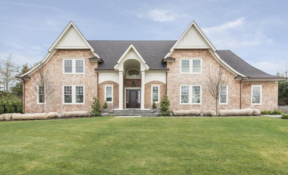 $3.9 Million Newly Built Shingle Home In Southampton, NY