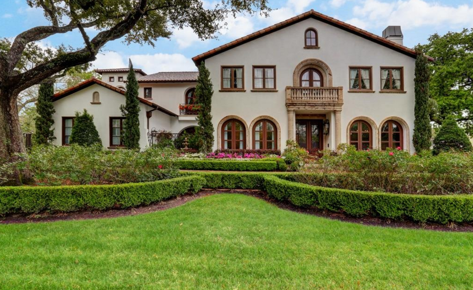 Million spanish style mansion in houston tx homes for Spanish style homes for sale near me