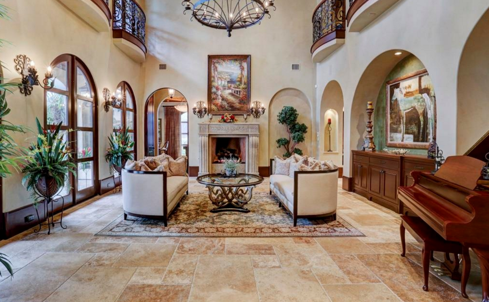4 37 Million Spanish Style Mansion In Houston Tx Homes