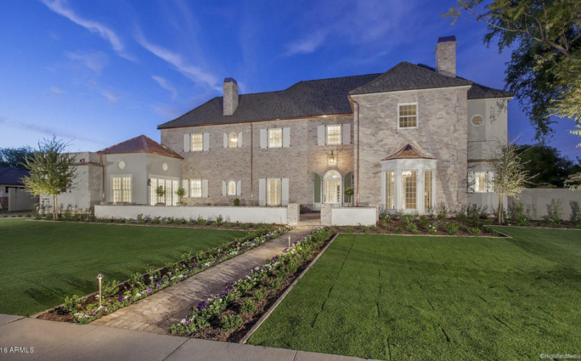 $4.495 Million Newly Built French Inspired Home In Phoenix, AZ