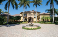 $6.495 Million Mediterranean Country Club Home In Naples, FL