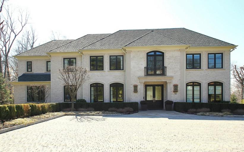 $3.595 Million Brick Home In Cresskill, NJ