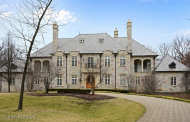 10,000 Square Foot Stone Mansion In Barrington, IL