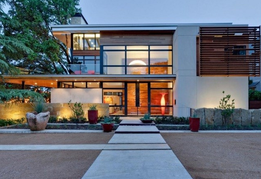 $5.695 Million Contemporary Mansion In Dallas, TX