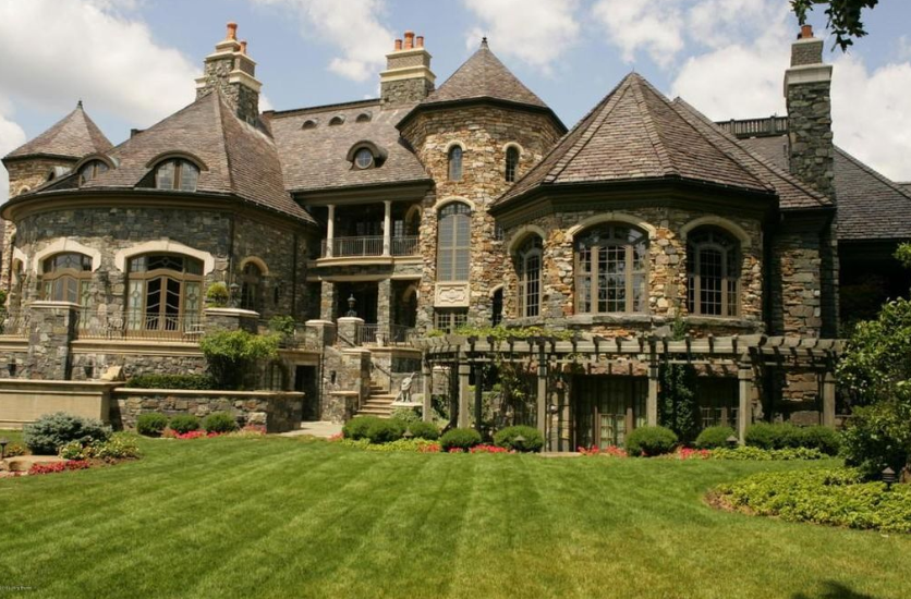 30 Million Grand Estate In Fort Wayne In Homes Of The Rich