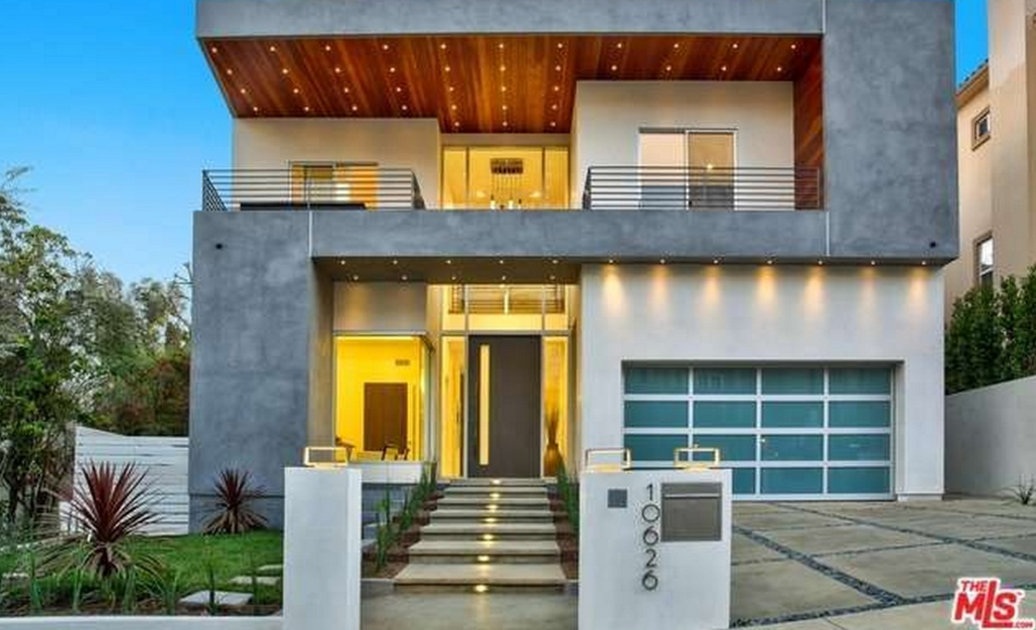 $4.595 Million Newly Built Contemporary Home In Los Angeles, CA