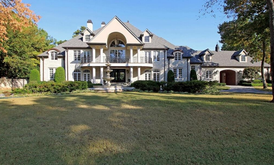 16,000 Square Foot Mansion In Tulsa, OK