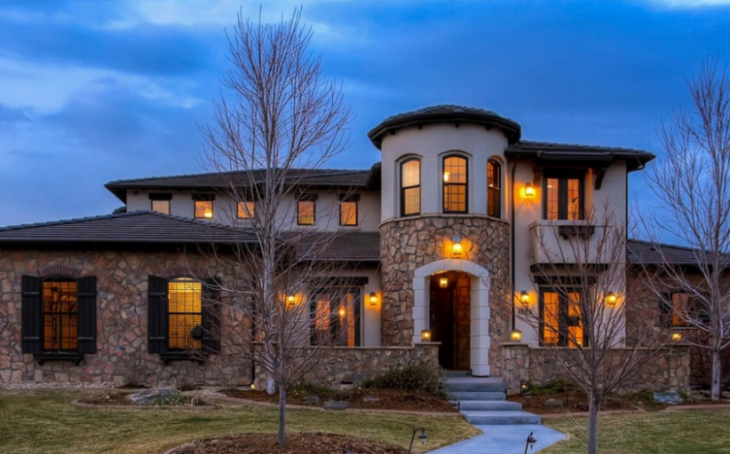 10,000 Square Foot Stone & Stucco Mansion In Westminster, CO