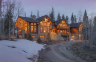 $2.1 Million Log & Stone Mansion In Silverthorne, CO