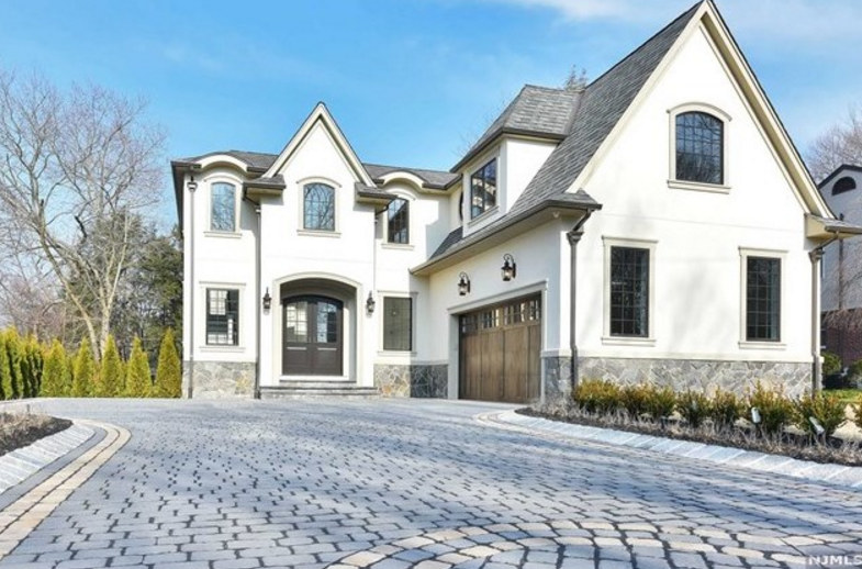 $2.2 Million Newly Built French Inspired Home In Demarest, NJ