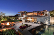 10,000 Square Foot Contemporary Mansion In Paradise Valley, AZ