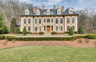 $3.2 Million French Inspired Brick Mansion In Franklin, TN