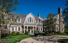 $21.995 Million Shingle & Stone Mansion In Sagaponack, NY