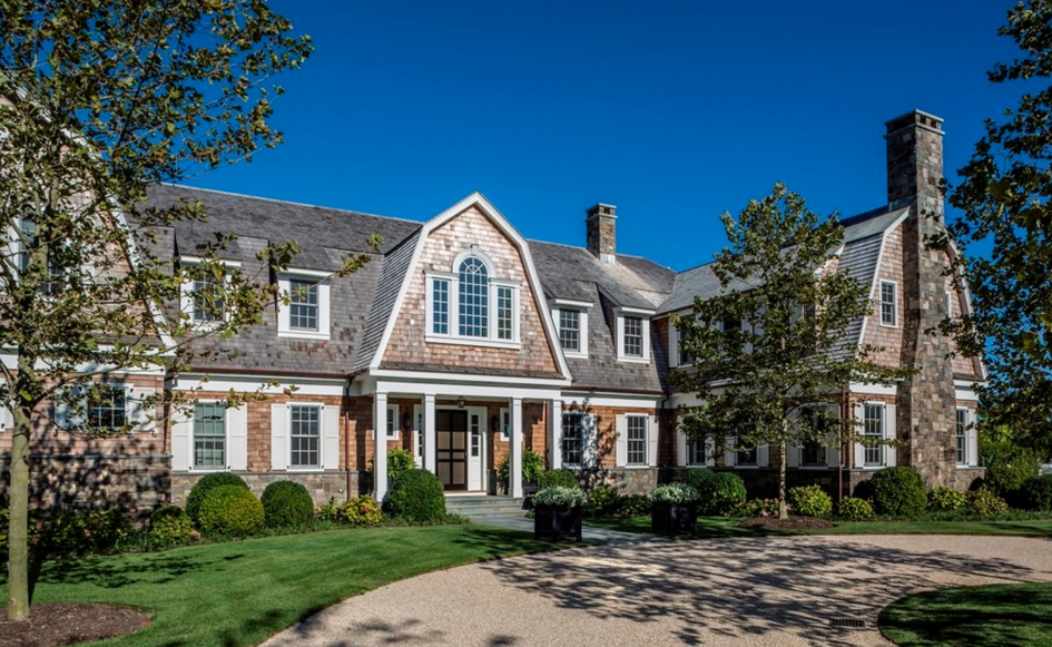 $21.995 Million Shingle & Stone Mansion In Sagaponack, NY