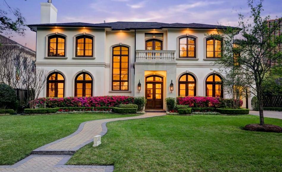 $3.195 Million Mediterranean Home In Houston, TX
