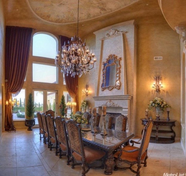 15,000 Square Foot European Inspired Mansion In Granite