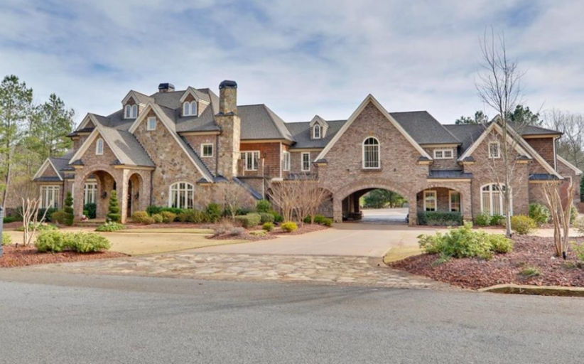 17,000 Square Foot Country Club Mansion In Braselton, GA