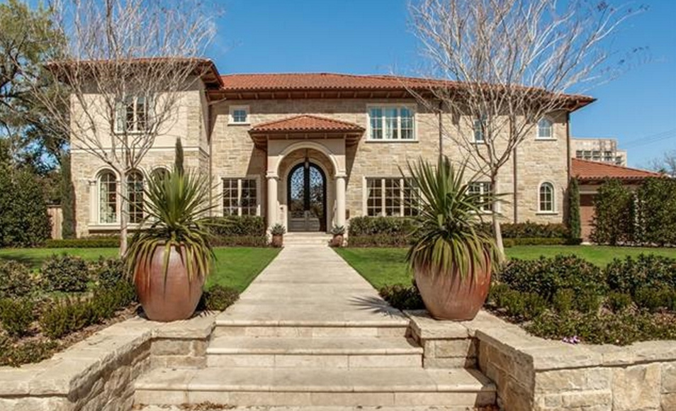 $7.995 Million Stone Mansion In Dallas, TX