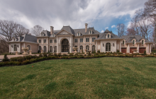Le Chateau de Lumiere – A $14 Million 24,000 Square Foot Newly Built French Inspired Mega Mansion In Great Falls, VA