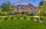 $4.5 Million Lakefront Brick Mansion In Rancho Santa Fe, CA