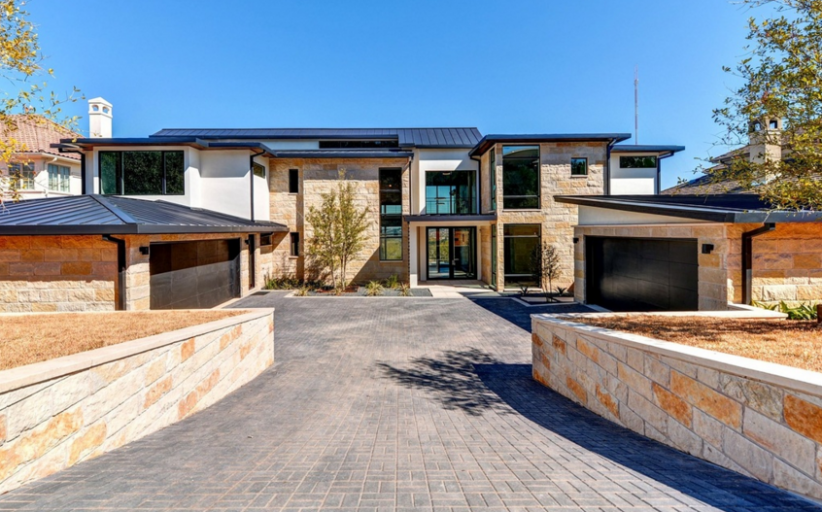 $2.9 Million Newly Built Contemporary Home In Austin, TX