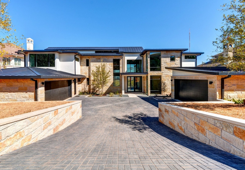 2 9 million newly built contemporary home in austin tx homes of the rich