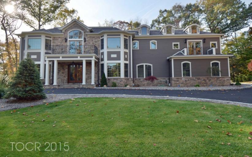 $2.149 Million Newly Built Home In Upper Saddle River, NJ