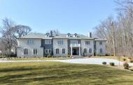 $5.995 Million Newly Built Stone & Stucco Mansion In Saddle River, NJ