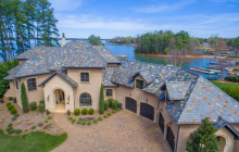 $3.2 Million Lakefront Mansion In Cornelius, NC