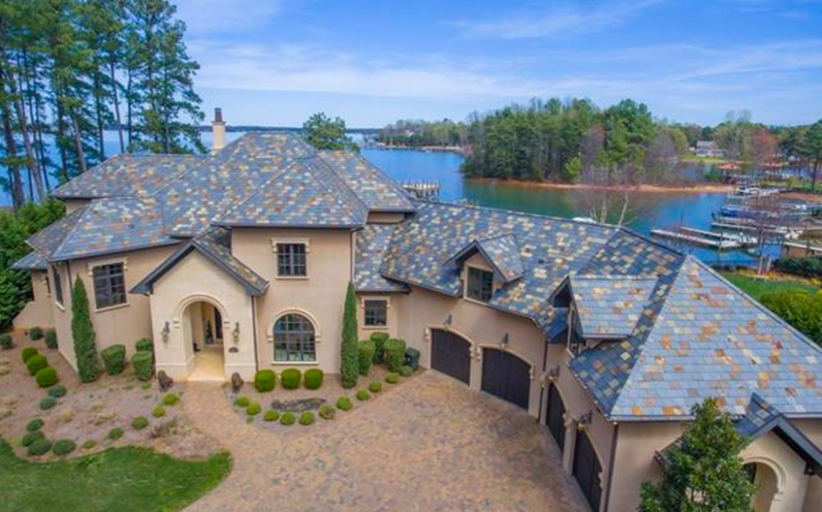 $3.2 Million Lakefront Mansion In Cornelius, NC
