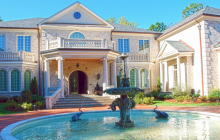 25,000 Square Foot Brick Mega Mansion In Fairfax, VA