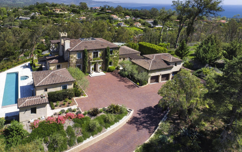 5 95 Million Hilltop Home In Santa Barbara Ca Homes Of