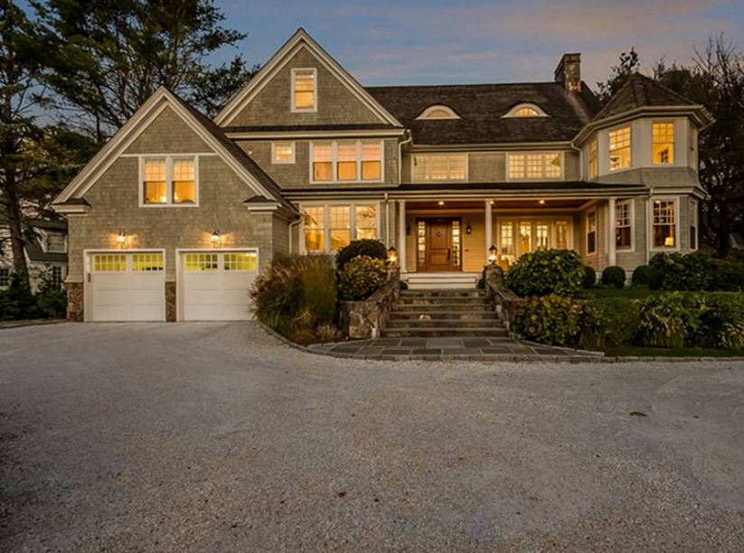 $4.35 Million Shingle Home In Westport, CT