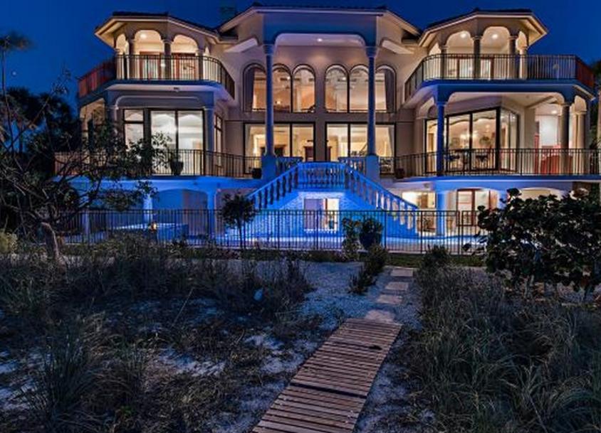 $9.495 Million Beachfront Home In Marco Island, FL