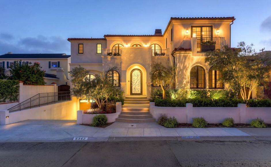 3 9 Million Spanish Contemporary Home In La Jolla Ca