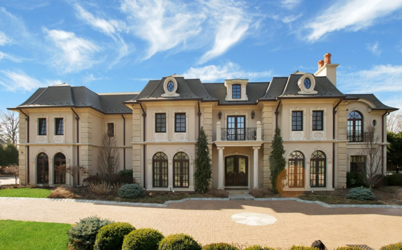 $8.85 Million Newly Built French Inspired Mansion In Englewood Cliffs, NJ
