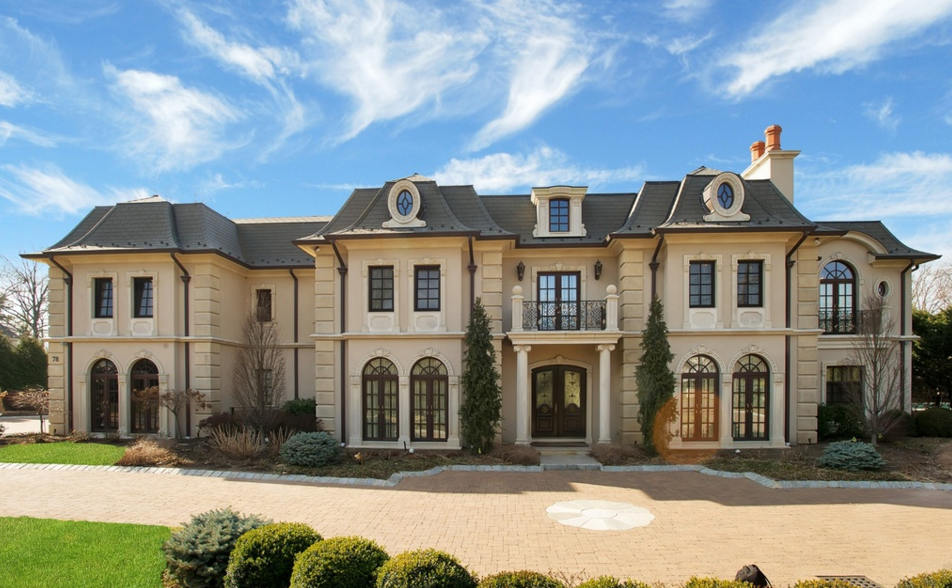 8 85 Million Newly Built French Inspired Mansion In