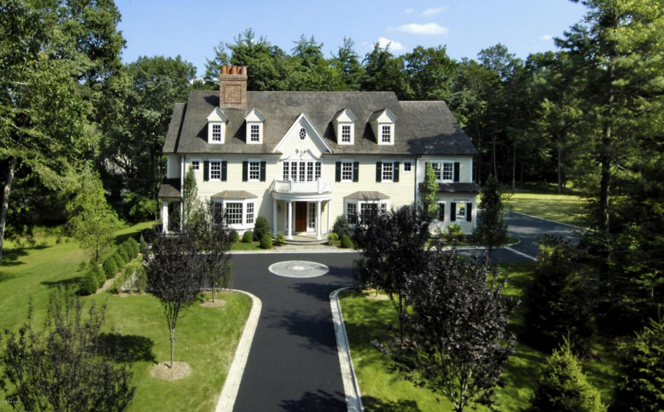 $5.295 Million Georgian Colonial Mansion In Greenwich, CT