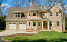 $2.3 Million Newly Built Stone & Shingle Home In McLean, VA