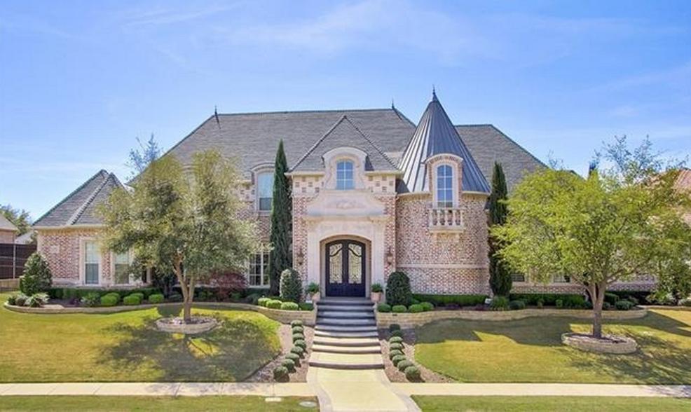 $2.4 Million Brick Mansion In Frisco, TX