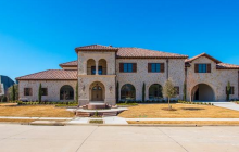 $3.195 Million Newly Built Stone & Stucco Home In Frisco, TX