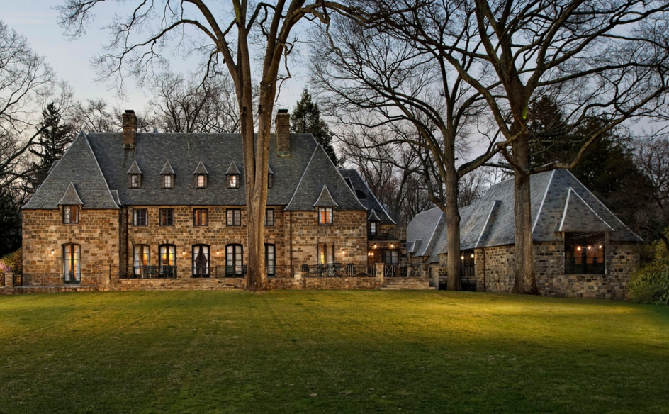 22 Million French Inspired Stone Mansion In Greenwich CT