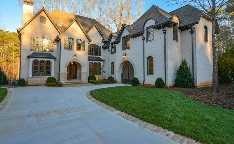 $2.4 Million Newly Built Brick & Stone Mansion In Atlanta, GA