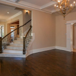 Living Room w/ Staircase