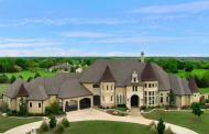 $1.75 Million Stone Home In Rockwall, TX