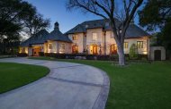 $2.895 Million French Country Inspired Stone Home In Dallas, TX