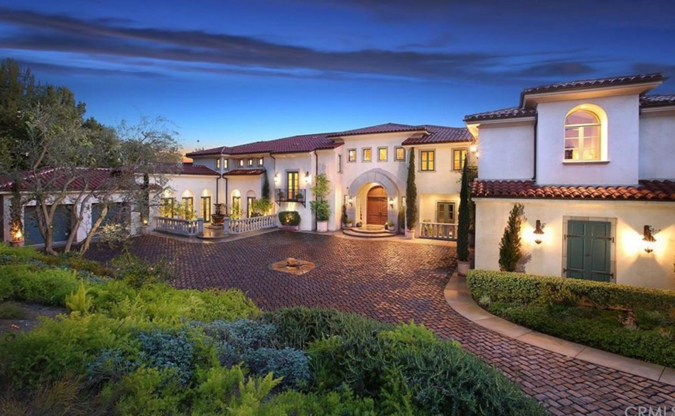 $4.6 Million Tuscan Home In Santa Ana, CA